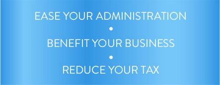 Ease your Administration | Benefit Your Business | Reduce your tax - Mob